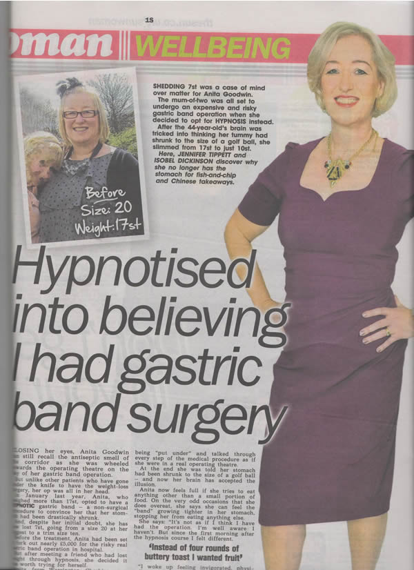 Weight Loss – Virtual Gastric Band | That's Better Hypnotherapy